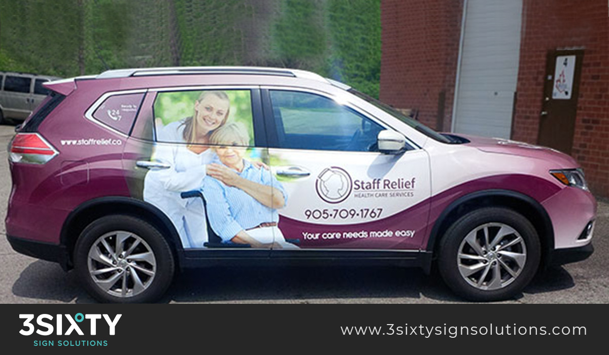Vehicle Wraps Edmonton