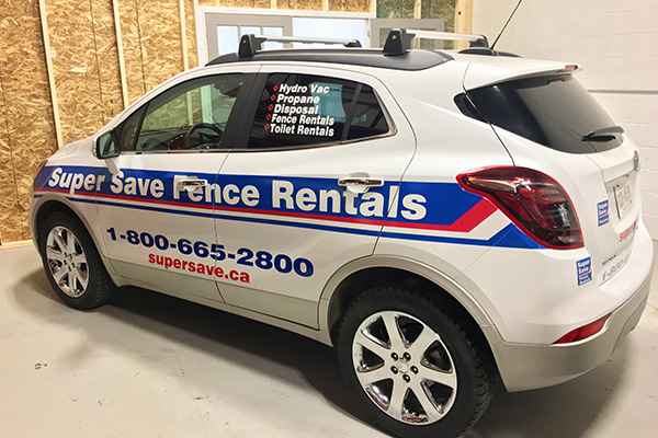 Vehicle Wrap For Car Rentals