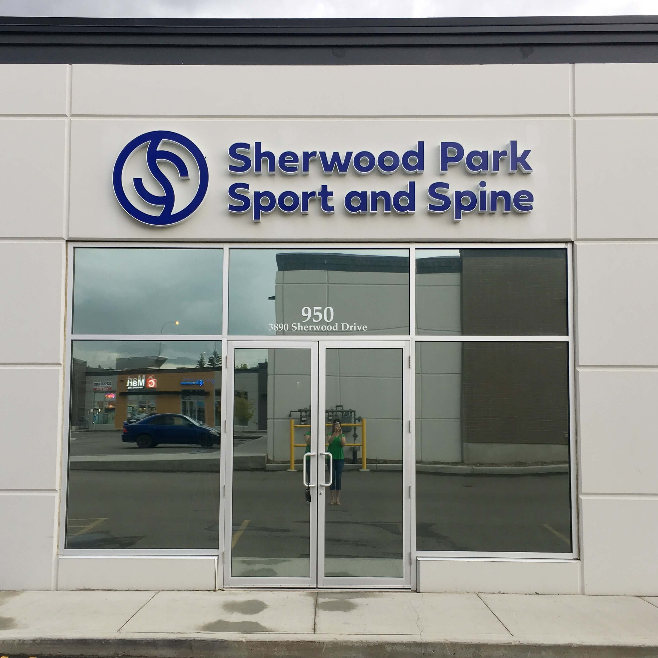 Exterior Sign Sport And Spine