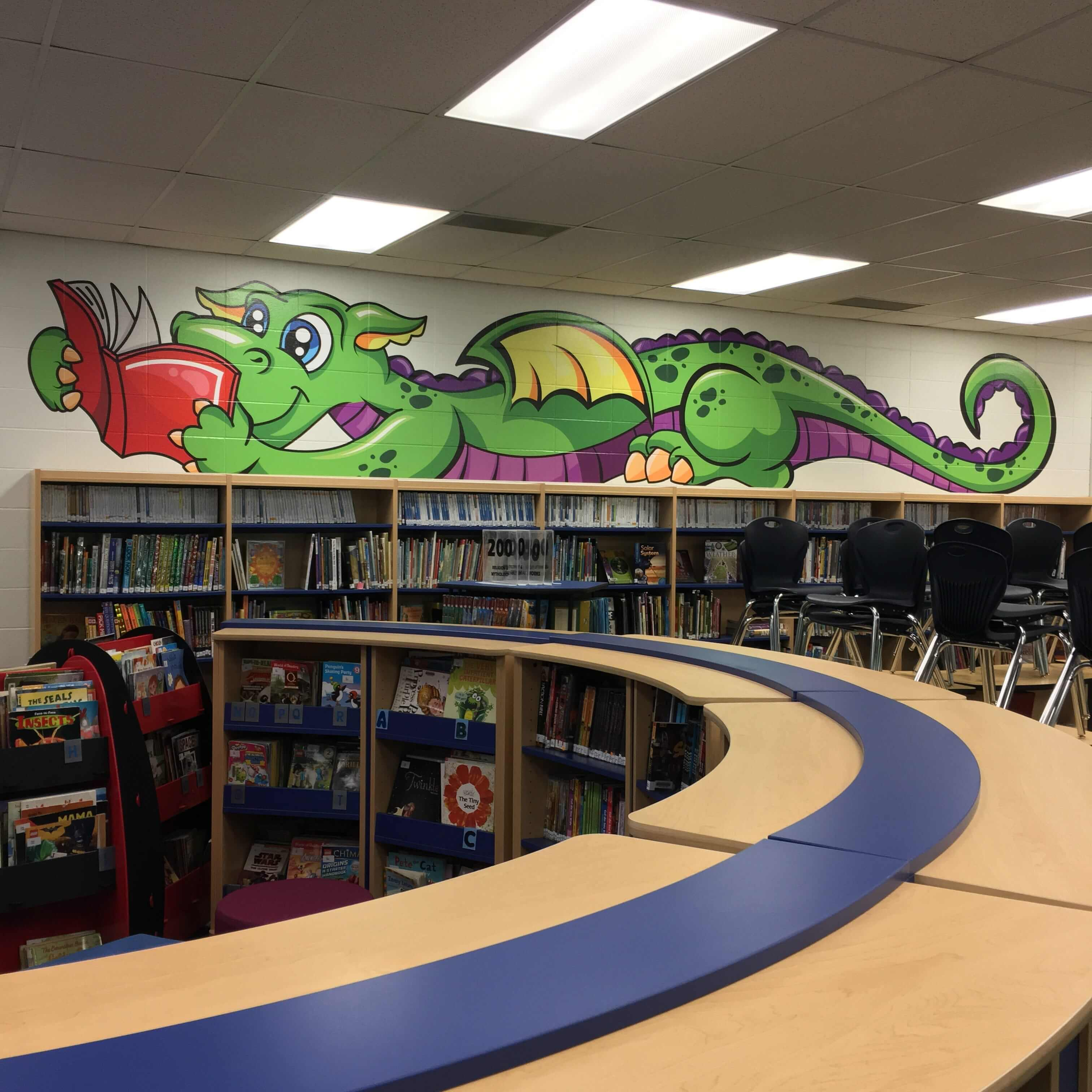 Wall Graphic WBO Dragon