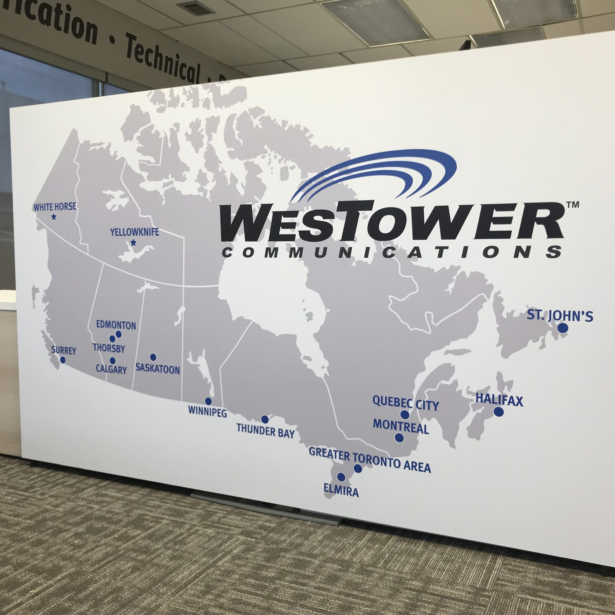 Wall Graphic Westower