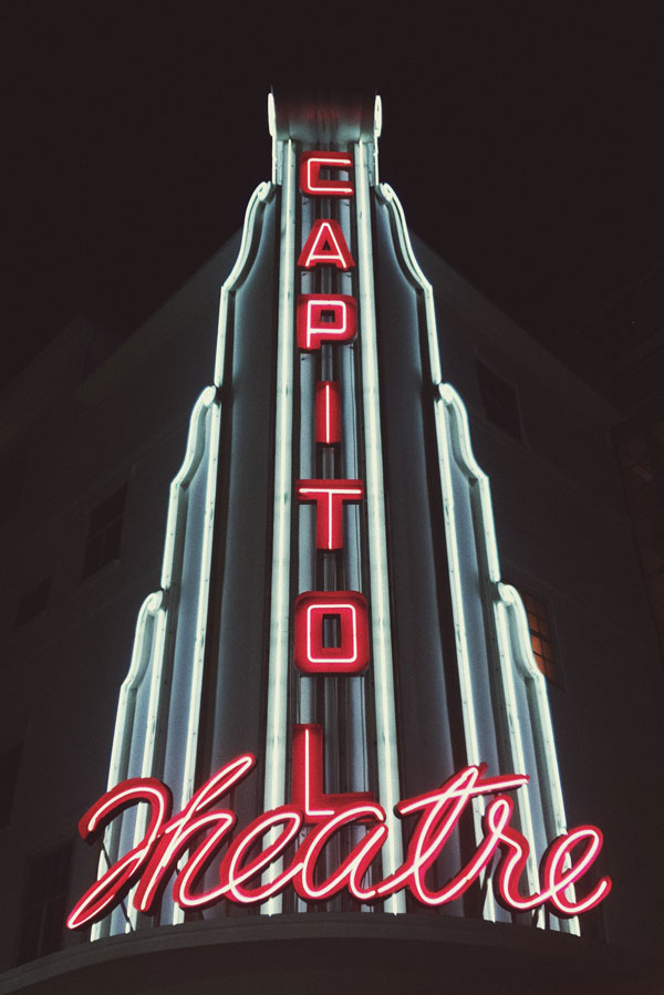 Capitol Theatre Customized LED Neon Signs in Edmonton, AB