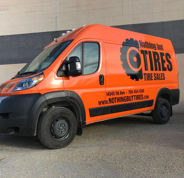 Commercial Vinyl Truck Wraps Made in Edmonton